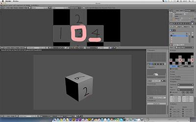 Blenderでテクスチャ貼りを試してみた。 その1