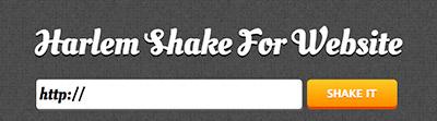 『ハーレムシェイク』でブログをシェイクってみた その1